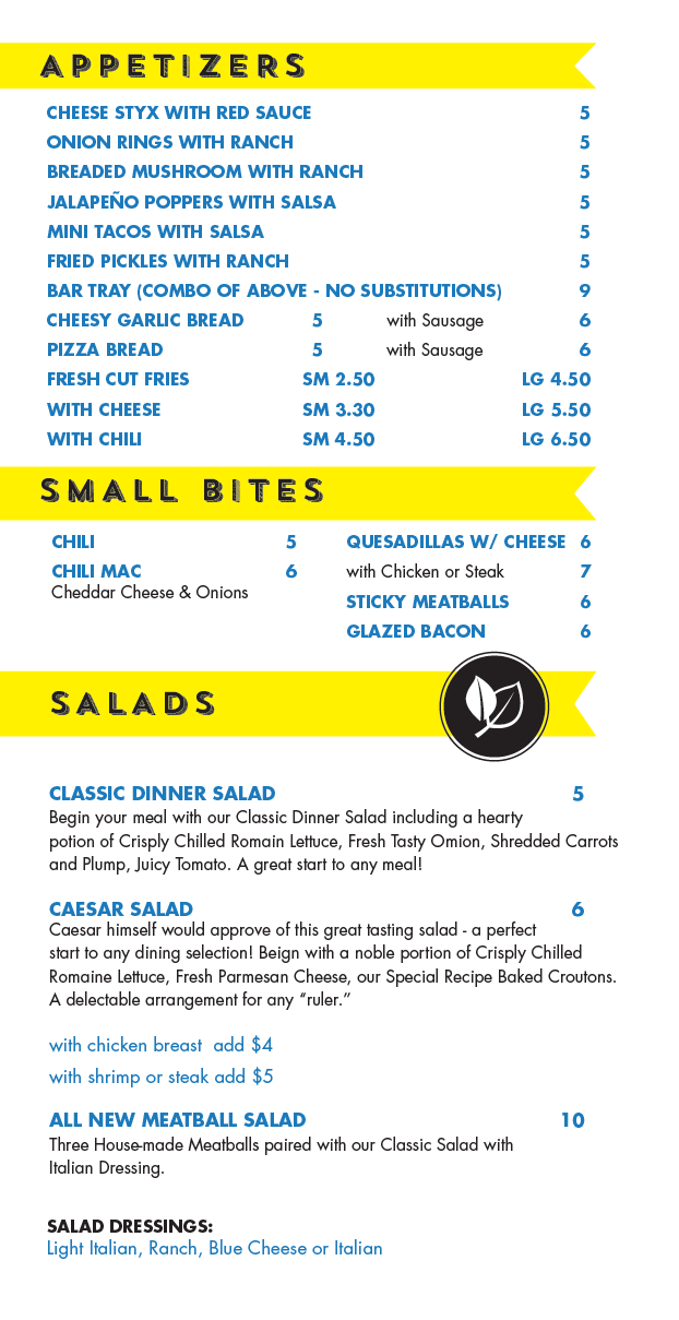 Appetizers Bites Salads